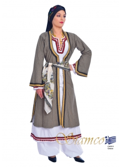 Greek Traditional Costume Cyprus Woman