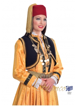 Traditional Kastoria costume with Embroidered Vest