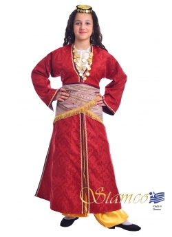 Traditional Costume Pontian Girl without vest