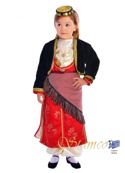 Traditional Pontian Girl Costume