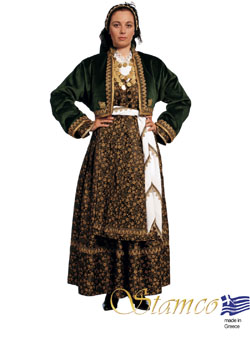 Traditional Veria Woman Costume