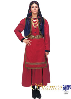 Traditional Vlach Woman Costume
