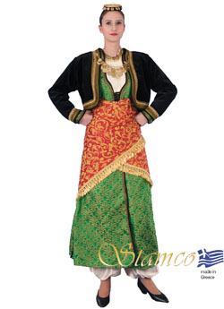 Traditional Pontos Woman Costume