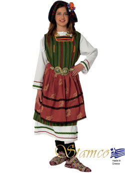 Traditional Metaxades Woman Costume