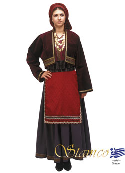 Traditional Macedonia Costume