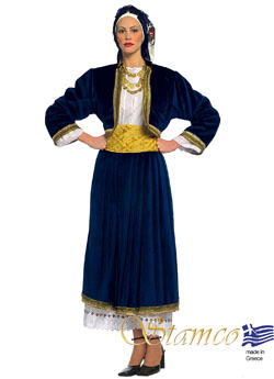 Traditional Cyclades Woman Costume