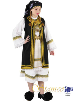 Traditional Souliotissa Woman Costume