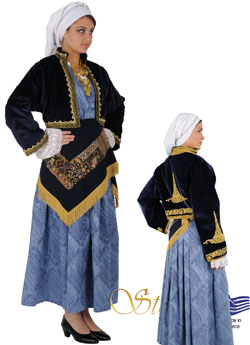 Traditional Kithera Tsirigo Costume