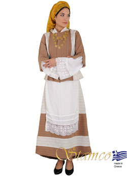 Traditional Lemnos Limnos Aegean Costume