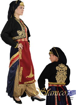 Traditional Kapadokia Embroidery Costume
