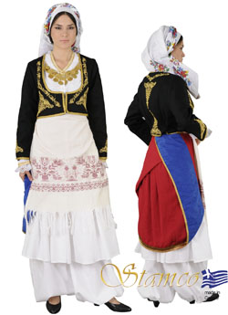 Traditional Crete Anogia Costume