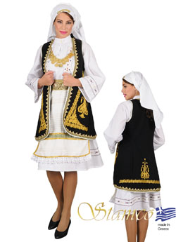 Traditional Souliotissa Costume