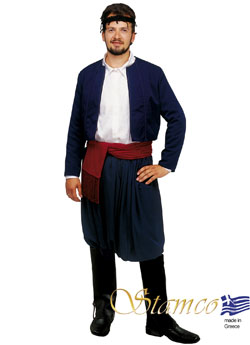 Traditional Crete Man Costume