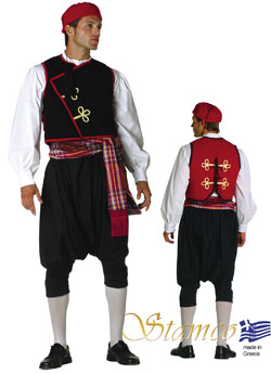 Traditional Cyclades Man Costume