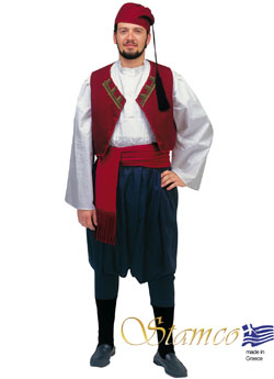 Traditional Aegean Islands Man Costume