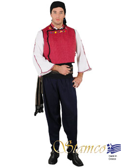 Traditional Evros Thrace Costume
