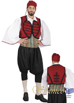 Traditional Maniatis Costume