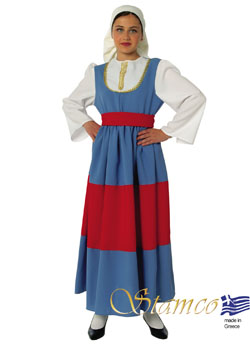 Traditional Maniatissa Girl Costume