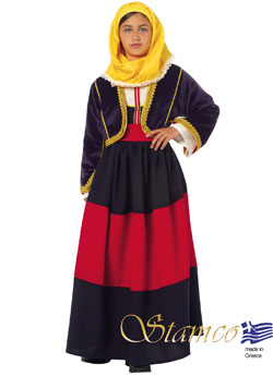 Traditional Maniatissa Costume