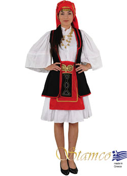 Traditional Sarakatsana Costume