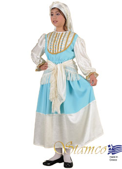 Traditional Cyclades Girl Costume