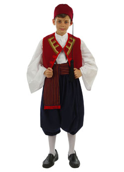 Traditional Aegean Islands Boy Costume