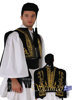 Traditional Evzonas Vest
