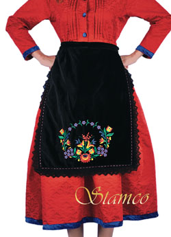 Traditional Embroidered Apron
