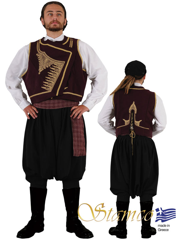 Traditional Cyprus Man Costume